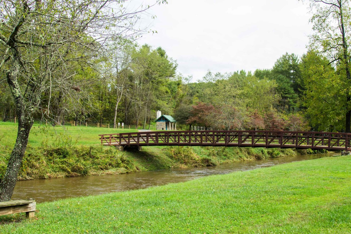 A bridge at Life Center of Galax