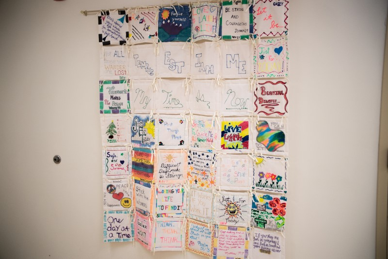 A quilt at Life Center of Galax