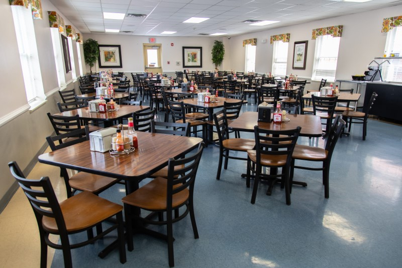 The cafeteria at Life Center of Galax